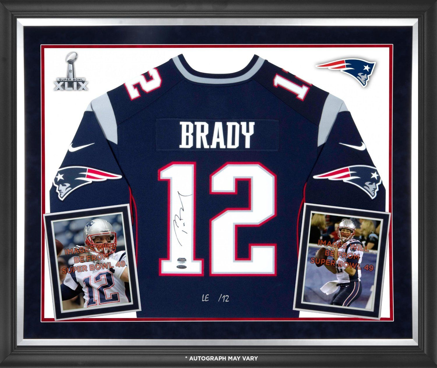 tom brady signed jersey amazon