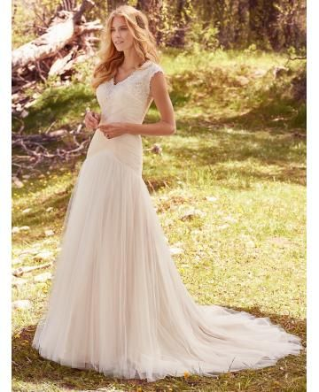 robe de mariage tulle foret