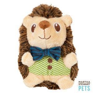 Martha Stewart Pets Plush Hedgehog Dog Toy Toys Petsmart