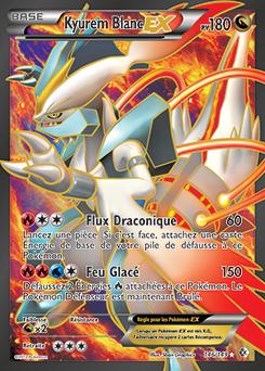 Kyurem Blanc Ex Carte Pokemon Carte Pokemon A Imprimer Carte Pokemon Ex