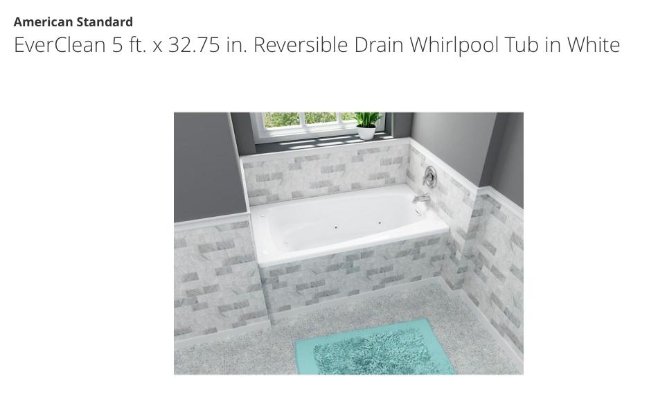 Home Depot Tub Whirlpool Tub Whirlpool Bathtub Soaking Bathtubs