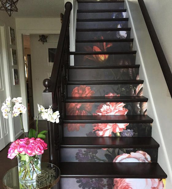 10 Eye Catching Staircase Designs For Unique Home Decor: Mymodernmetselects: Eye-Catching Decals Add... In 2019
