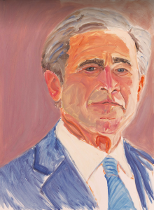Portrait Of A Failed President Inside The Art Of George W Bush Portrait George W Bush Paintings Art