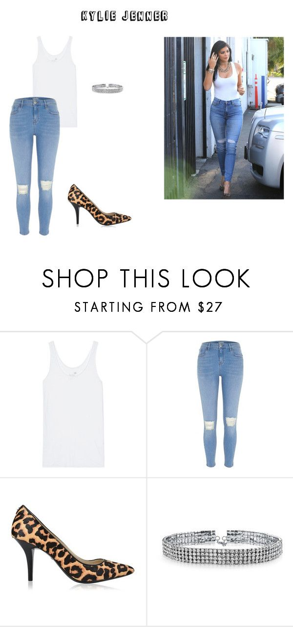 """""""Kylie Jenner"""" by diamonds-ruby on Polyvore featuring 7 For All Mankind, Juvia, River Island, MICHAEL Michael Kors and Bling Jewelry"""