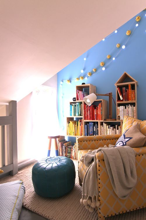 Turn That Unused Room Of The House Into This: Turn A Small, Unused Space Into An Inviting Reading Nook