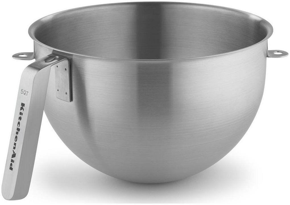 Kitchenaid ksmc5qbowl 5 quart nsf certified polished