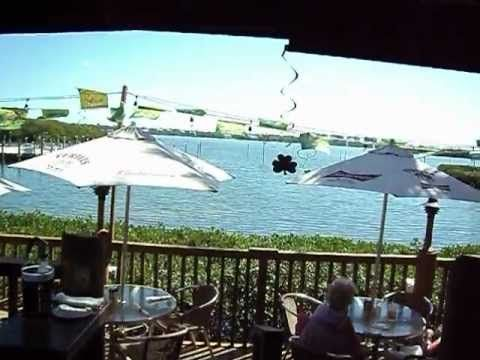 Turtles Waterfront Restaurant Siesta Key Sarasota Youtube