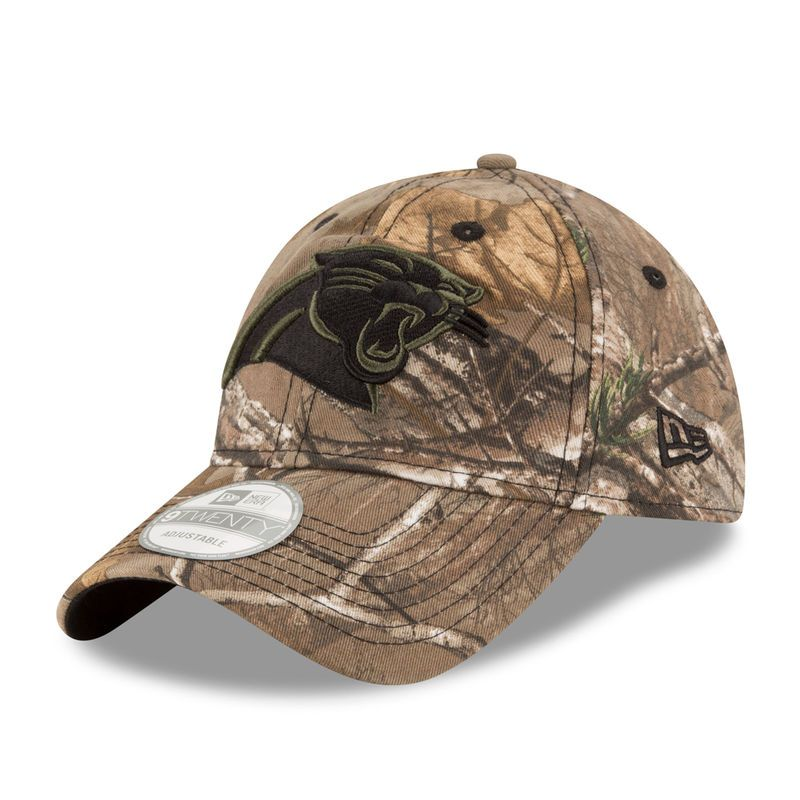 Carolina Panthers New Era Realtree Camo 9TWENTY Adjustable Hat ... 8045a043d