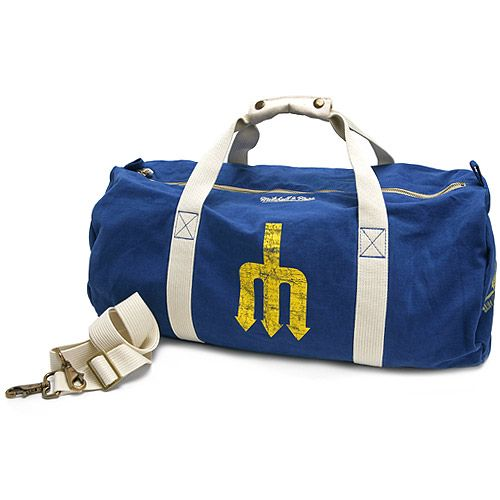 the latest e68d4 08025 Seattle #Mariners Vintage Washed Canvas Duffel Bag by ...