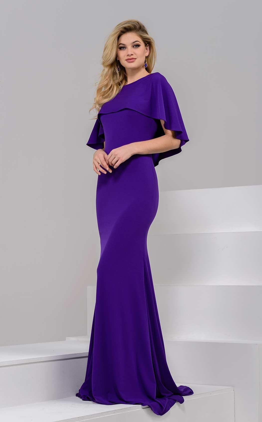 Pin By Cece El Kishky On Evening Dresses Cape Dress Long Prom Dresses Jovani Dresses [ 1689 x 1050 Pixel ]