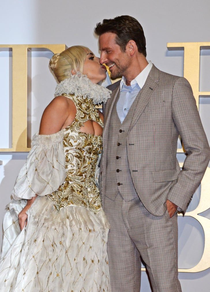 Gaga Bradley kept close again red carpet film UK | Warning: These Photos of Lady Gaga and Bradley Cooper Might Make You Wish They Were a Couple