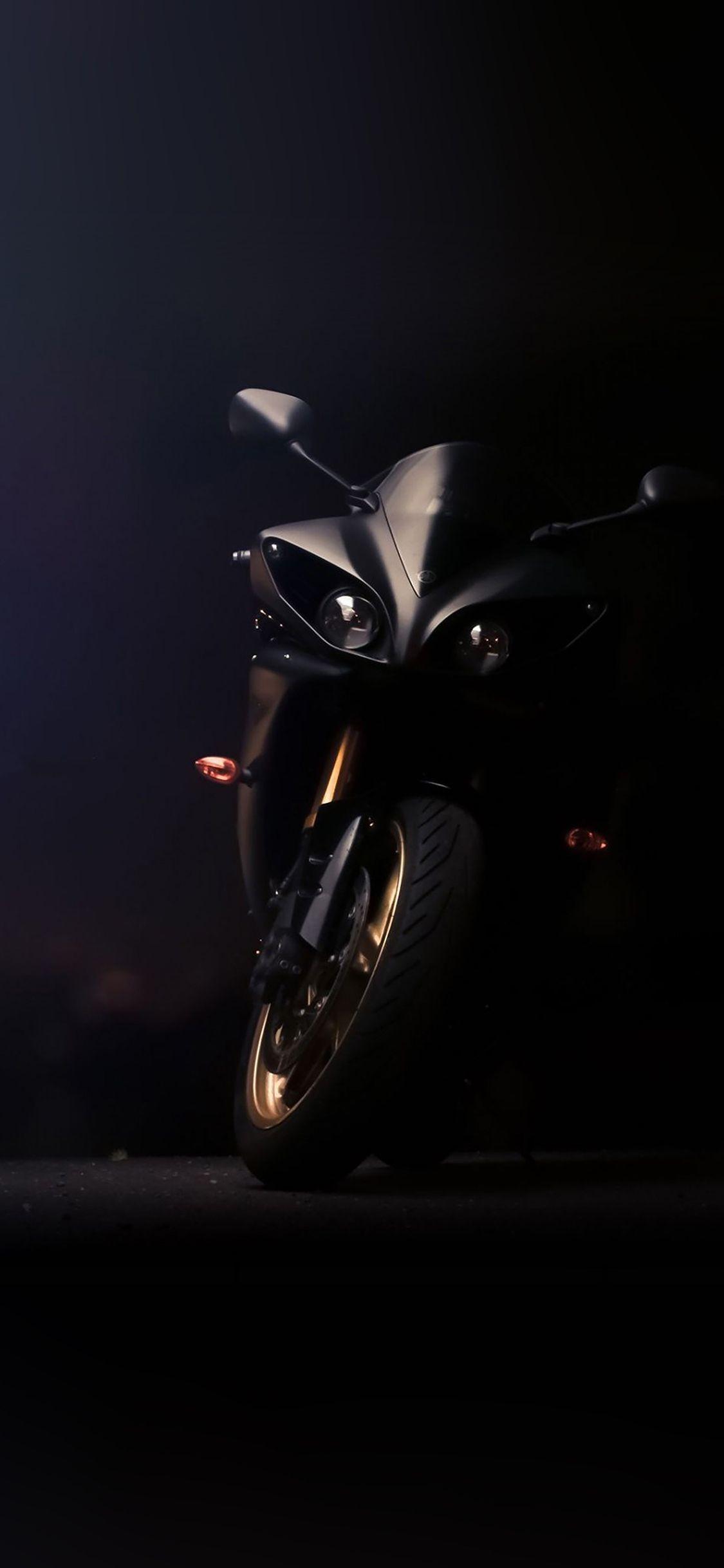 Iphonex Wallpaper Af47 Yamaha Ride Motorbike Motorcycle