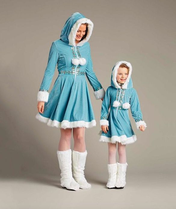 cc7fb091dc11 Mother   Daughter Winter Wonderland Outfits