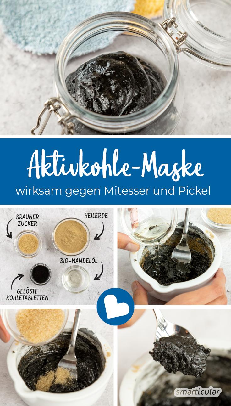 Photo of Gesichtsmaske gegen Mitesser und Pickel