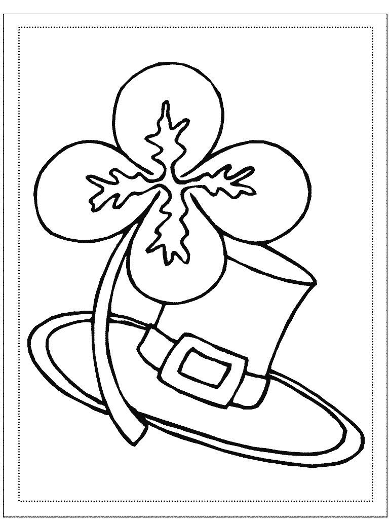 - Free, Printable St. Patrick's Day Coloring Pages For Kids St