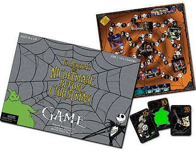 nightmare before christmas board game google search - Nightmare Before Christmas Board Game