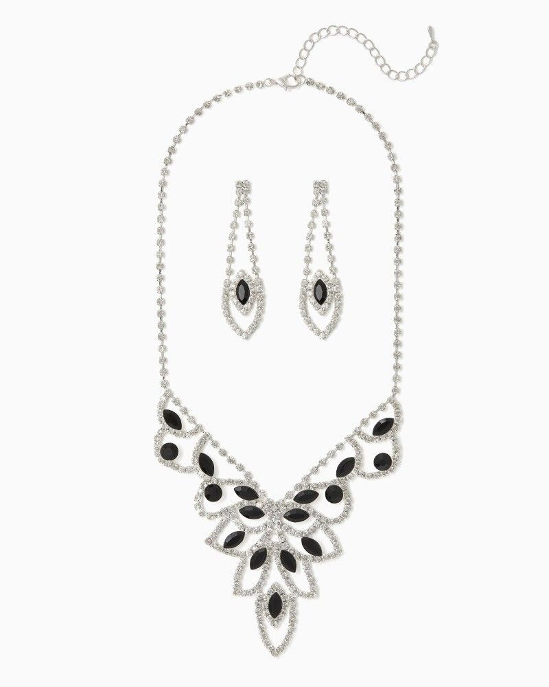 Annora Marquise Necklace Set Fashion Jewelry RSVP charming