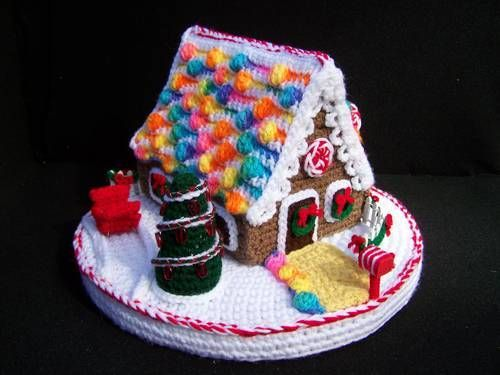Gingerbread House - no instructions but sooo cute!