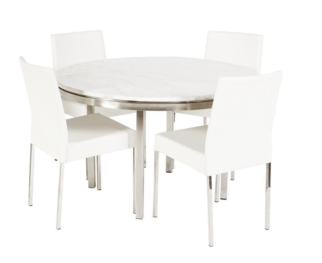 For the ultimate in luxury, the Lilia Collection is a fusion of classic Athenian marble and contemporary polished stainless steel. Characterised by clean geometric shapes, it connects effortlessly with casual or formal architecture.  NB: Please enquire for availability  NB: Please note that chairs are not included