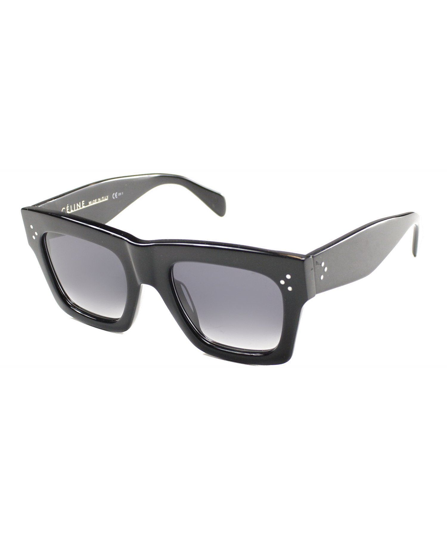 1e033328a0496 Celine Celine CL 41054 807 Black Sunglasses Grey Gradient Lens ...