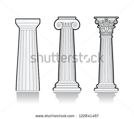 Greek Column Stock Photos, Images, & Pictures   Shutterstock ...