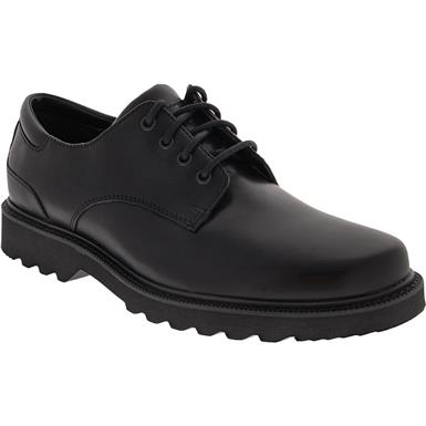 rockport northfield lace up casual shoes  mens black in