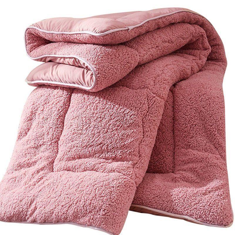 Decbest 4 Kg Verdicken Shearling Decke Winter Soft Warme Bettdecke