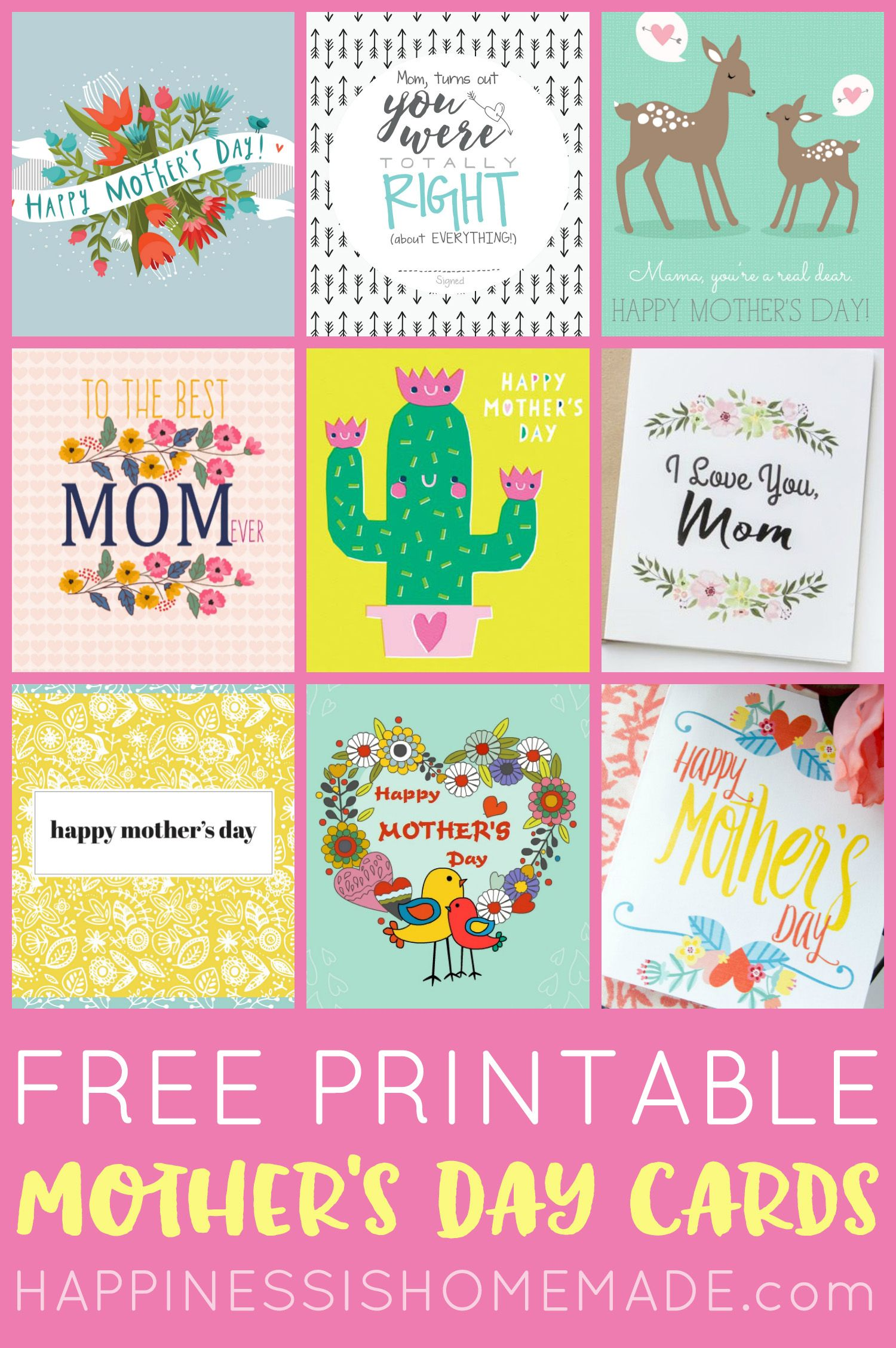 Mothers Day Gift Certificate Template Free Printable 3 ...  |Happy Mothers Day Certificate Printables