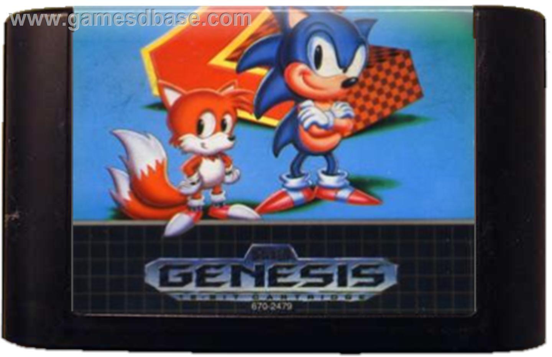 Sega Genesis Cartridge Mega Drive Games Sonic The Hedgehog Sega Genesis