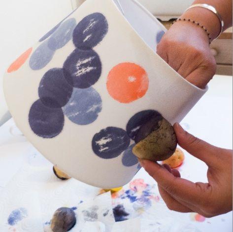 r sultat de recherche d 39 images pour peindre abat jour blanc bricolage pinterest abat. Black Bedroom Furniture Sets. Home Design Ideas