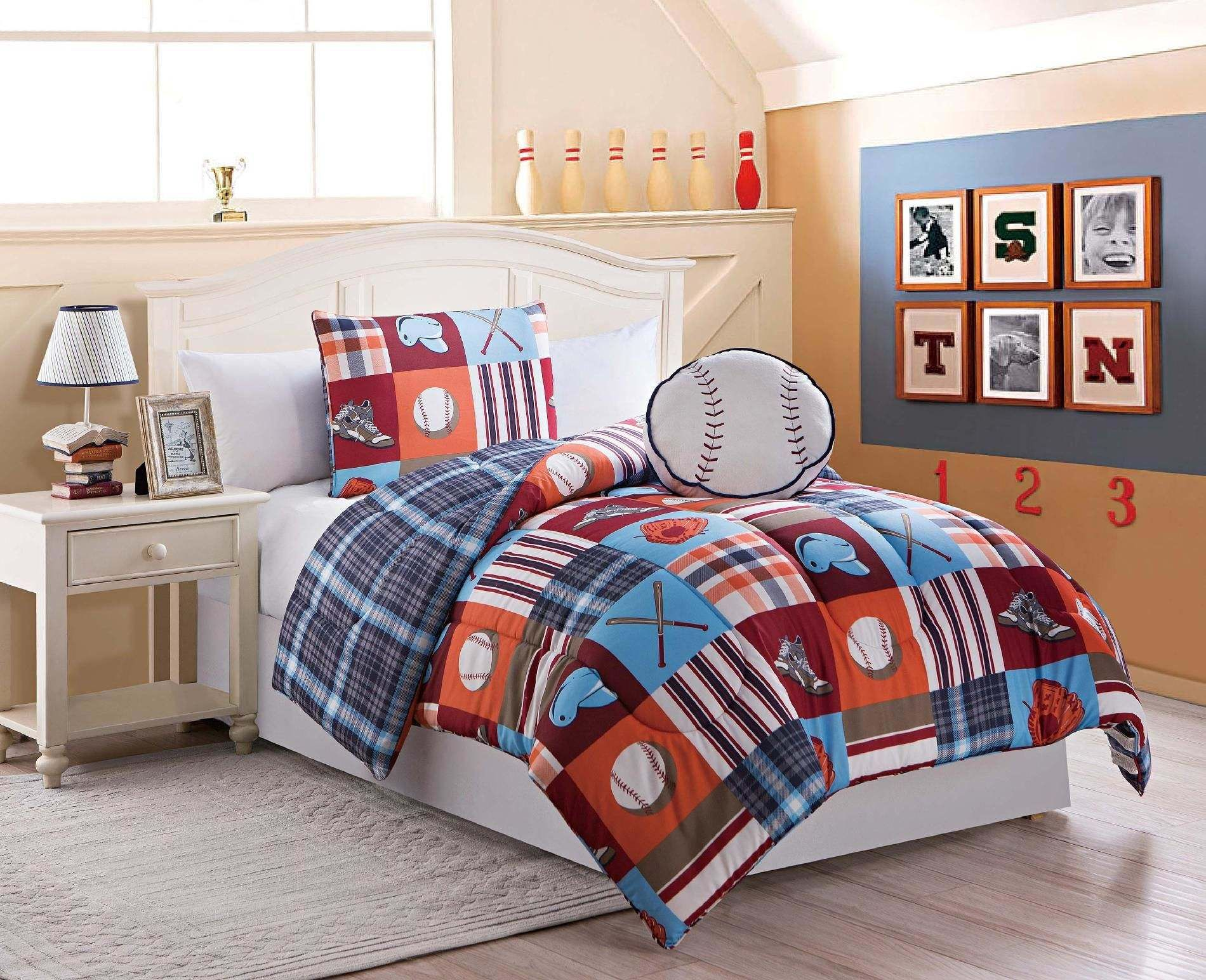 Pin by Aimee Beam on Boys bedroom | Twin comforter sets ...