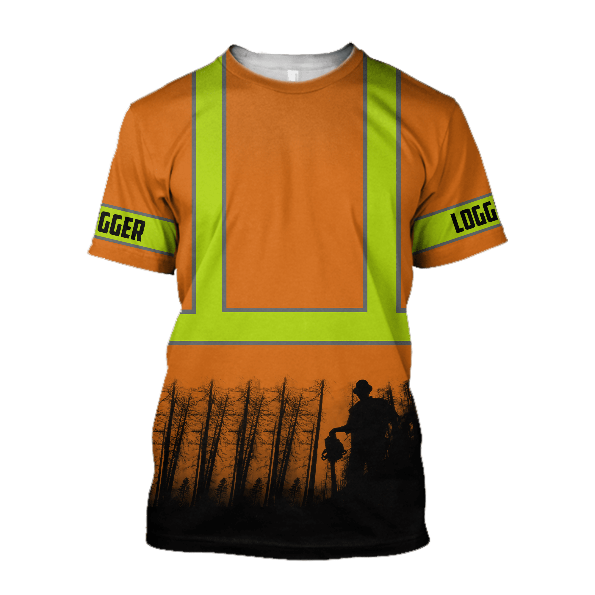 Brave Logger Man Legend Unisex Shirts AM102036 - T-shirt / XL