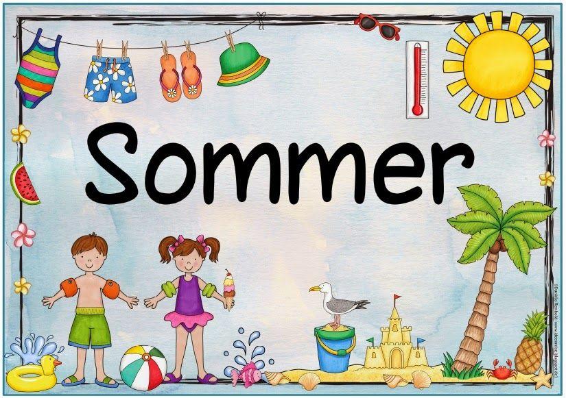 Plakat Zum Sommer Nachdem Mehrfach Nach Einem