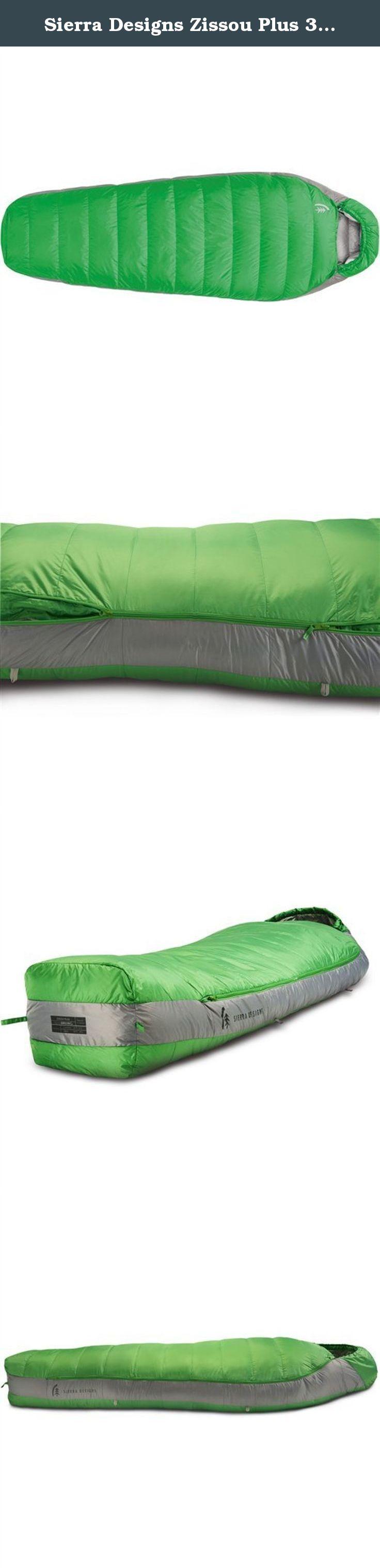 Sierra Designs Zissou Plus 30 Degree Down Sleeping Bag Online Lime Sleet Grey