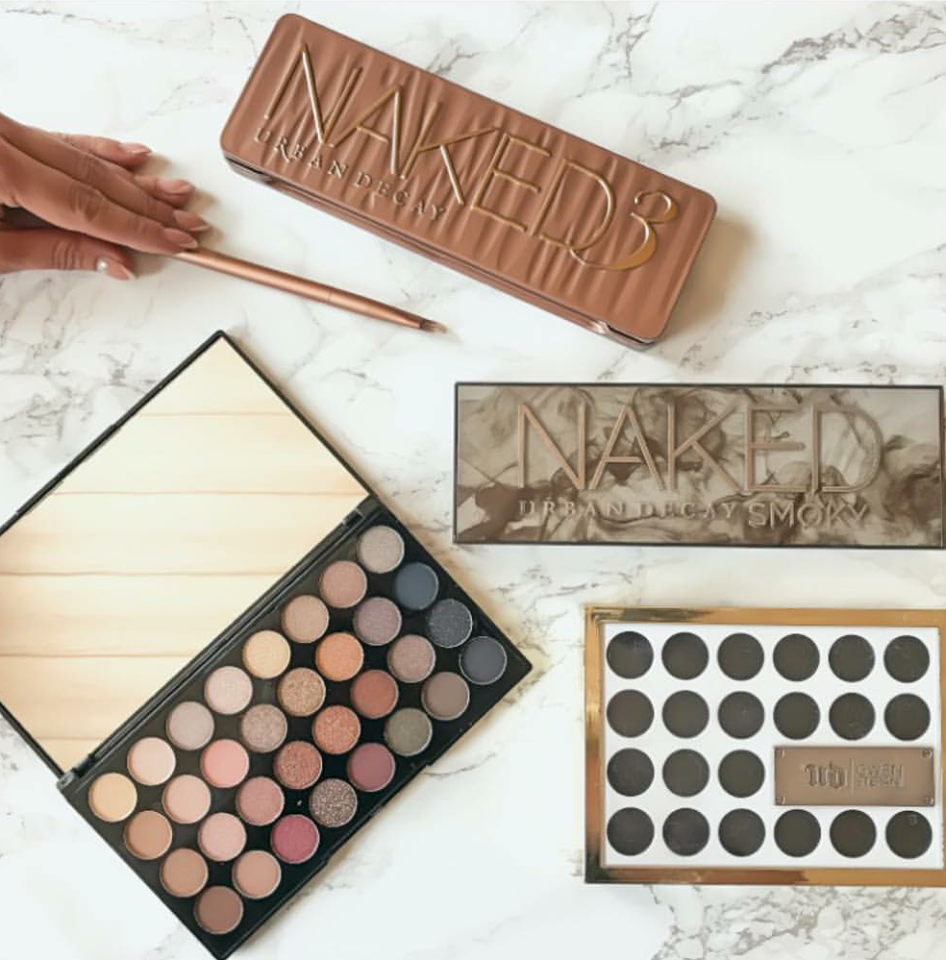Get Stefanie's favourite eyeshadow palettes by UD and