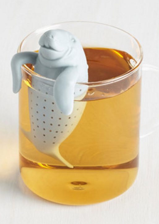 manatee tea diffuser