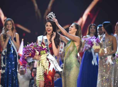 around the world news 2018 Queen of the Universe in