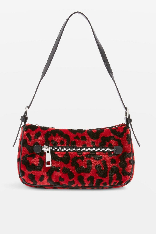 Kenya Leopard Print Shoulder Bag Bags Purses Bags Accessories Topshop Malaysia Shoulder Bag Women Leopard Print Handbags Shoulder Bag