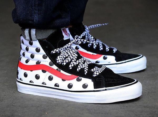 Explorez Chaussures Impressionnantes et plus encore ! Vans Vault x Stussy  OG Sk8-Hi LX ...