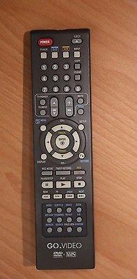Original Go Video Vr3845 Vr3840 Vr3930 Vr5940 Vr3840 Dvd Dvdr Vcr Remote Tested Remote Control Tv Remote Remote