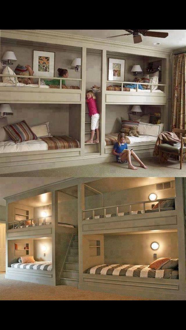 Amazing bed setup for kids room