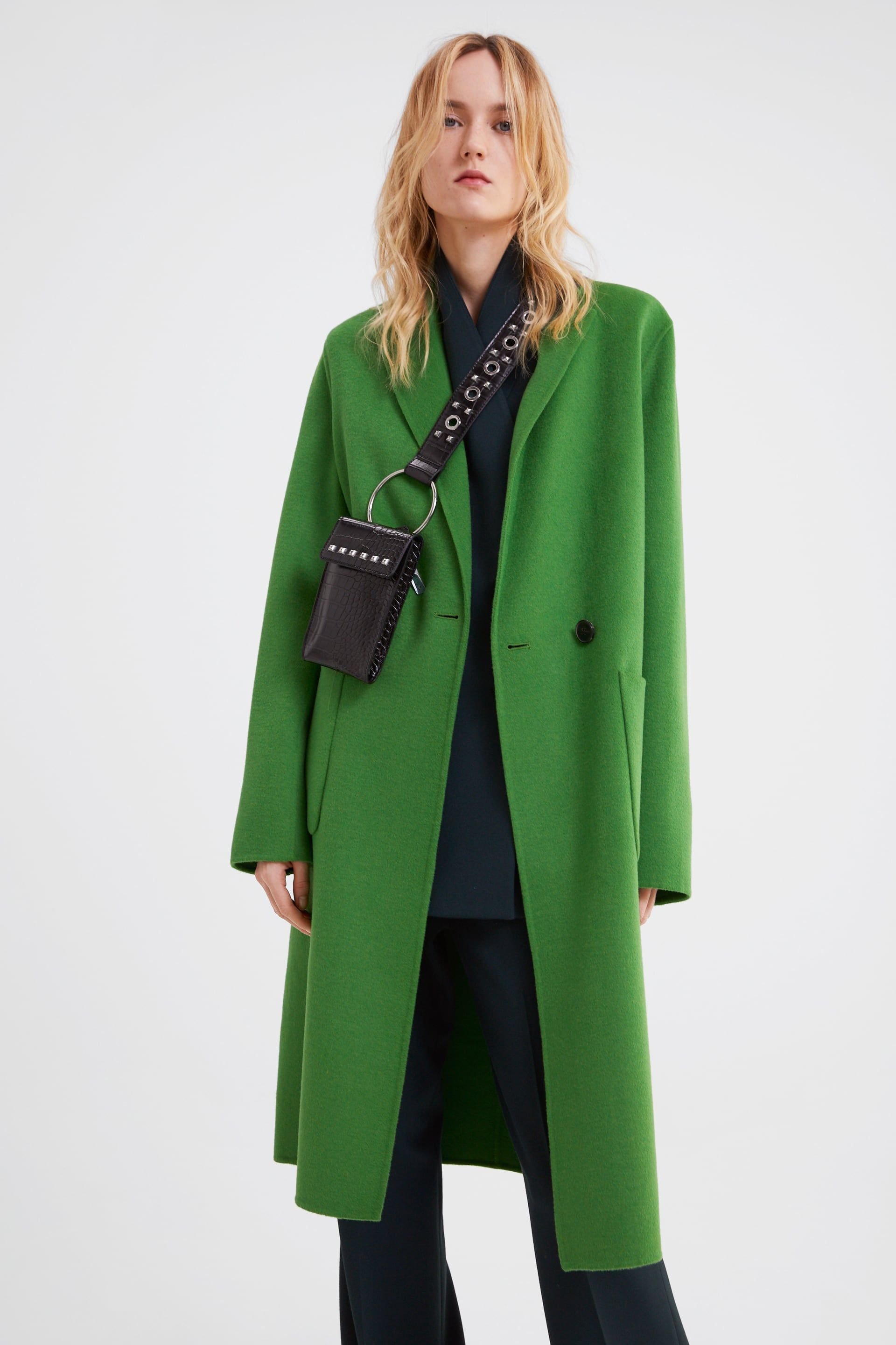 Image 2 of FLUORESCENT MENSWEAR COAT from Zara | Coat