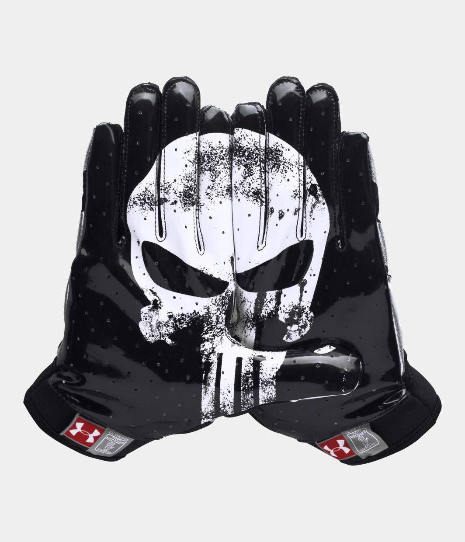 Men S Under Armour Alter Ego Punisher F4 Football Gloves Under Armour Us Football Gloves Football Accessories Football Gear