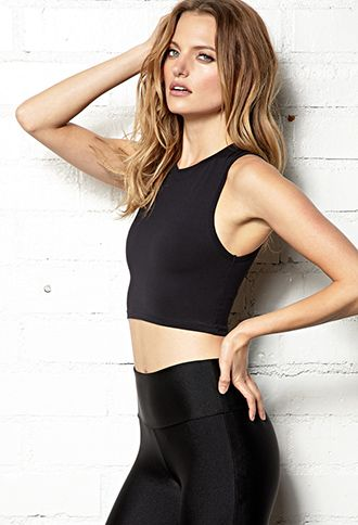 bcd81ec643c Stock up on stylish yoga, running and training favorites | Forever 21  Personalized Workout, Forever 21, Yoga Clothing, Workout Shirts, Activities  Crop, ...