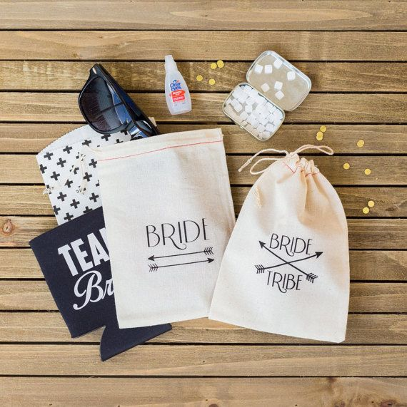 cf4b96bb8c7c Bride Tribe Hangover Kit Bags - Bachelorette Hangover Kit - Bride Tribe  favor bags - Bachelorette Pa