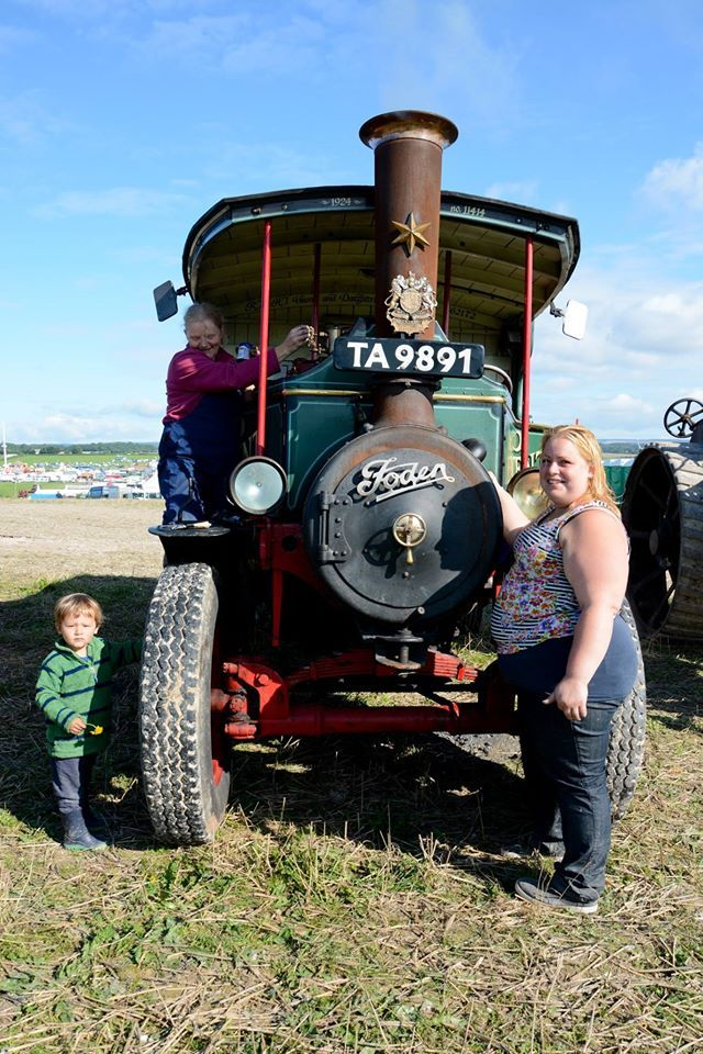 Freddie the Foden Steam Wagon owned by Vincent and
