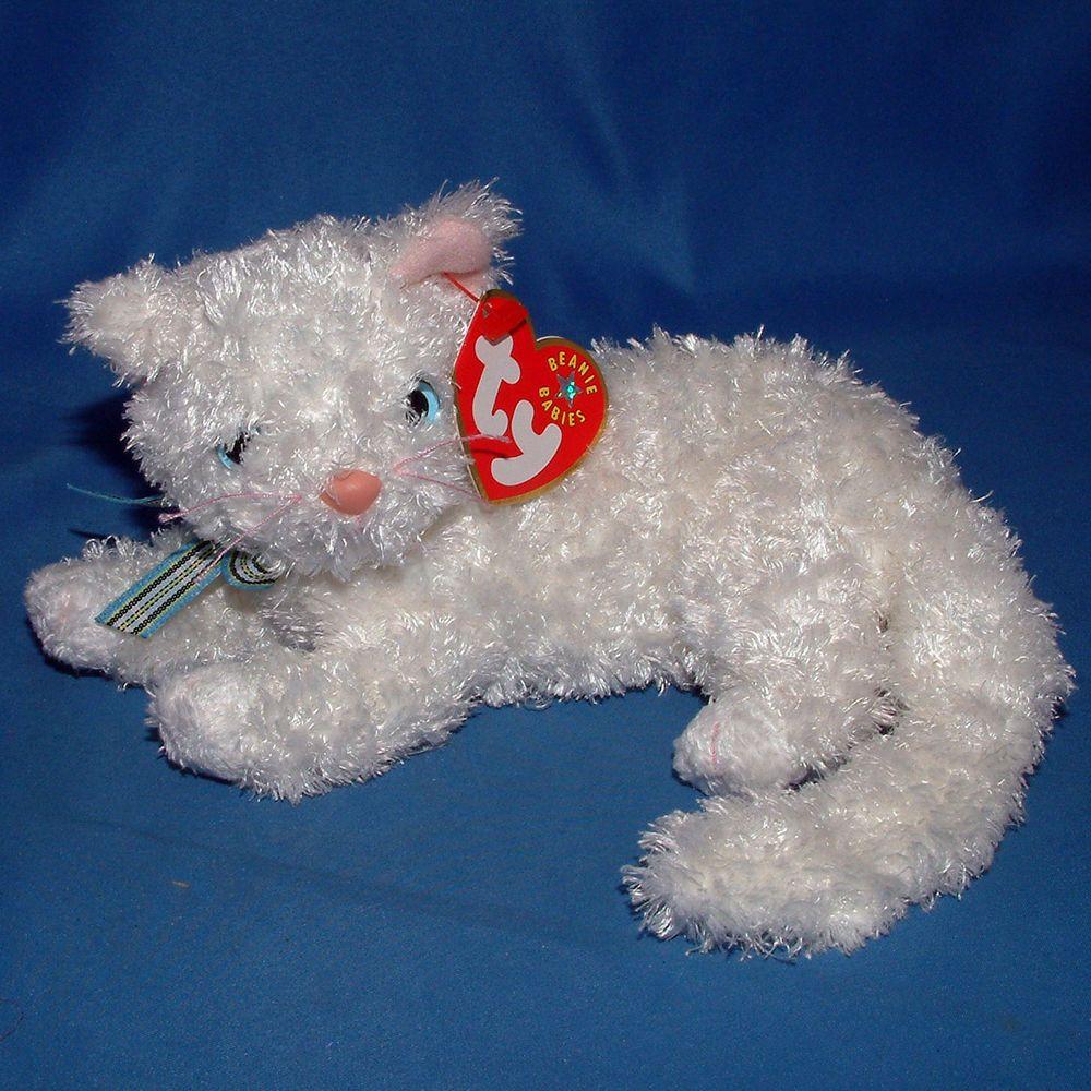 Ty Beanie Baby Starlett Mwmt Cat 2001 Ty Beaniebaby Baby Beanie Ty Beanie Ty Babies