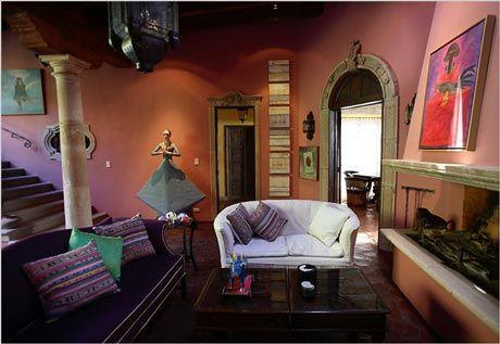 nyt mexican escape - Mexican Interior Design Ideas