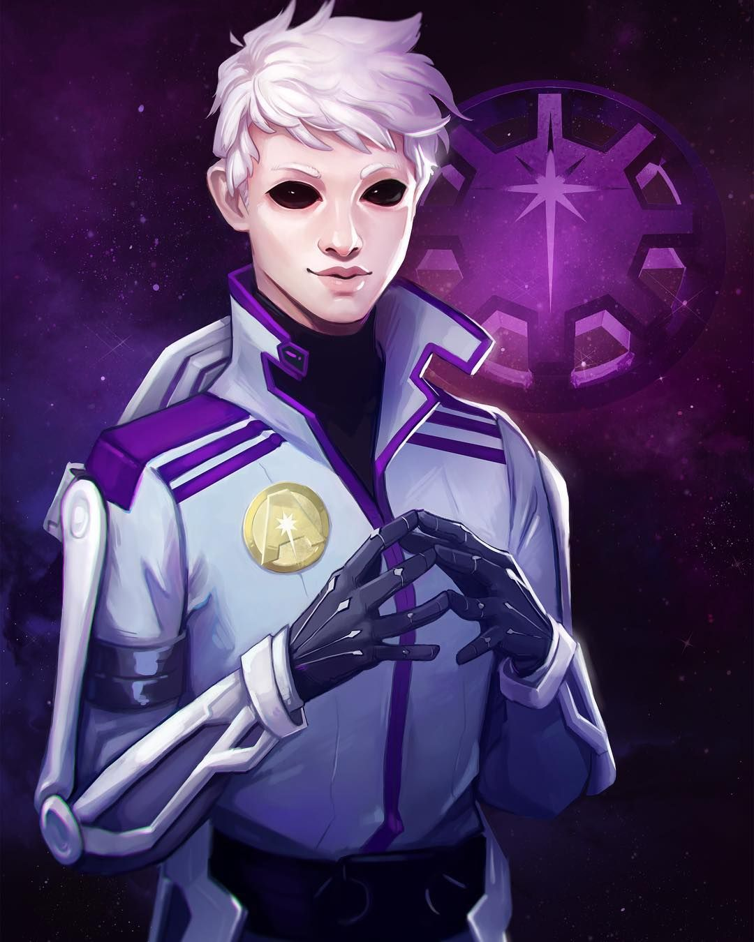 AURORA RISING character reveal, cadets! Name: Finian de Karran de ...