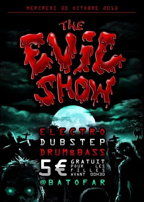 The Evil Show | Batofar | Paris | https://beatguide.me/paris/event/batofar-the-evil-show-20131030/poster/